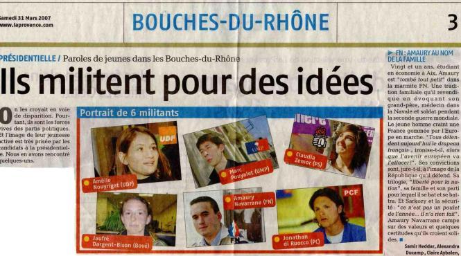 La Provence -31.03.07-